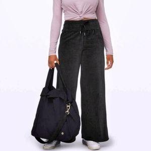 Lululemon   Morning Restore Velour Pant Black/Grey